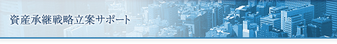 資産承継戦略立案サポート